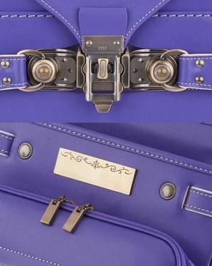 萬勇鞄ランドセルの「ベーシック アンティークブロンズ」はくすんだブロズカラーが高級感を感じさせるデザインです。